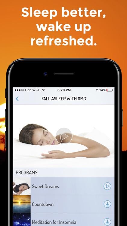 OMG. I Can Meditate ! Meditation & Mindfulness App app image