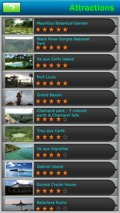 Mauritius Offline Map Travel Guide screenshot-2