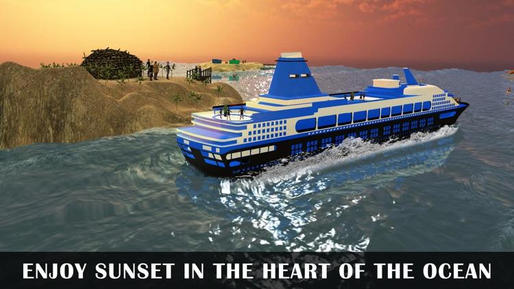 Cruise Yacht Parking Sim Game!