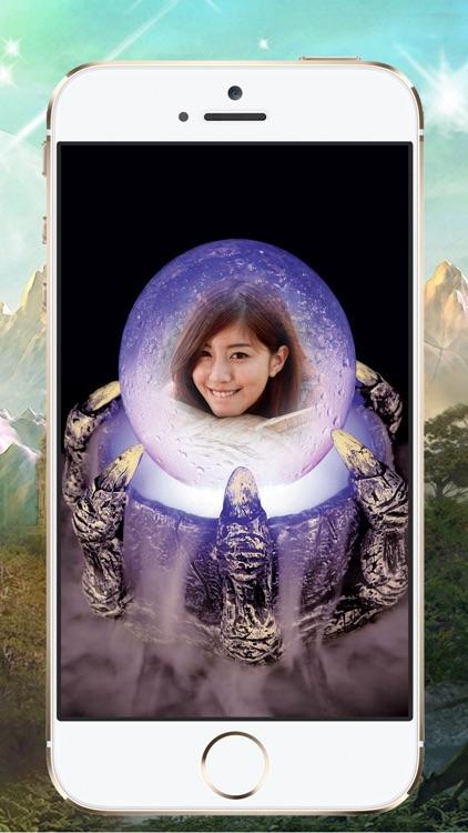 Magic Crystal Ball Photo Frames