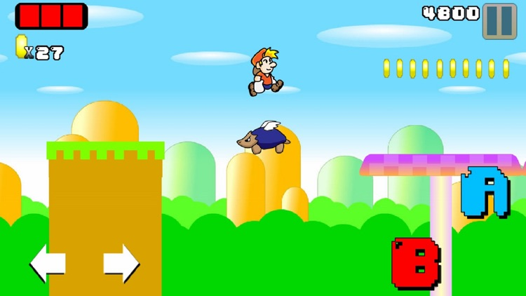 Super Adventures platform World - let it go ! screenshot-3