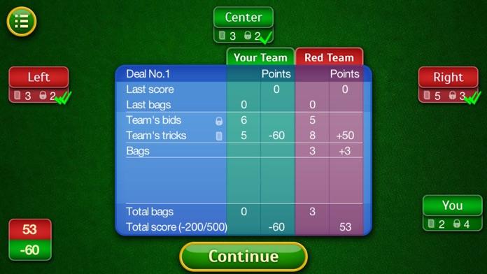 Spades. Screenshot