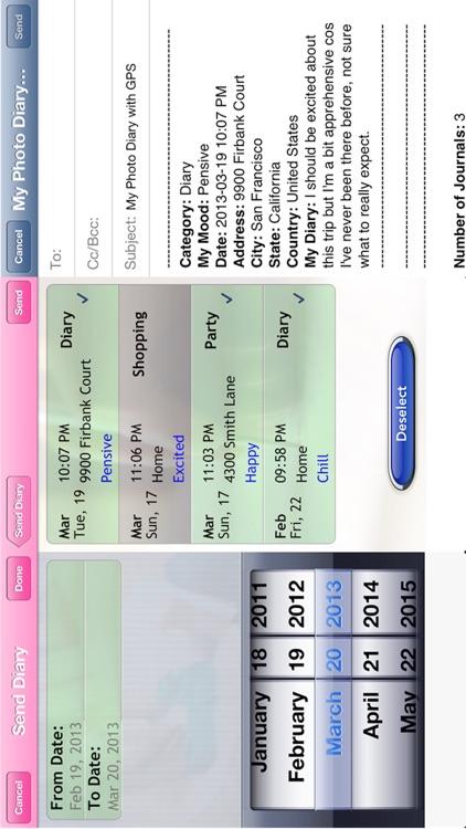 My Photo Diary HD with GPS screenshot-4