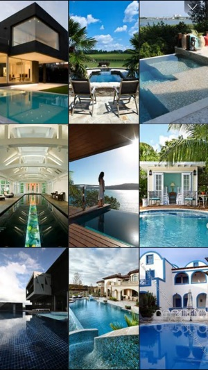 Swimming Pool Designs, Waterpark & Pool Pictures on the App Store