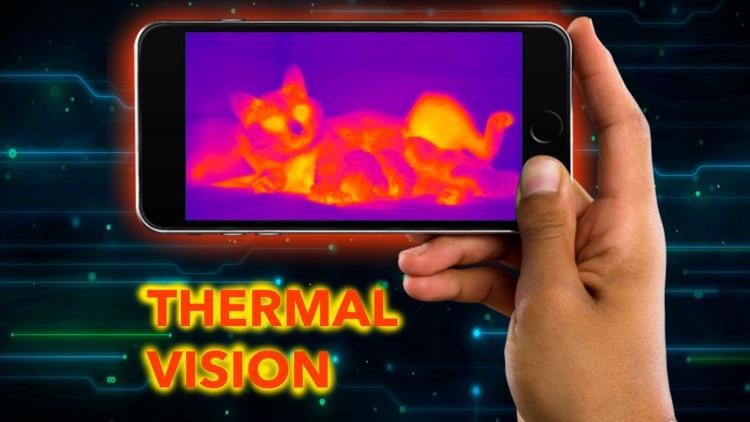Thermal Camera Heat Vision Real Simulator