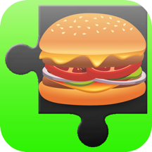 Burger Jigsaw Puzzle - Magic Photo Jigsaw Puzzles games free for kid Toddler and preschool