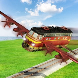 Flying Train Sim - Airplane Pilot Train