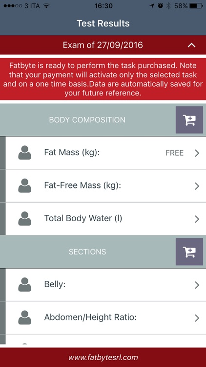 Fat Byte lean and weight track