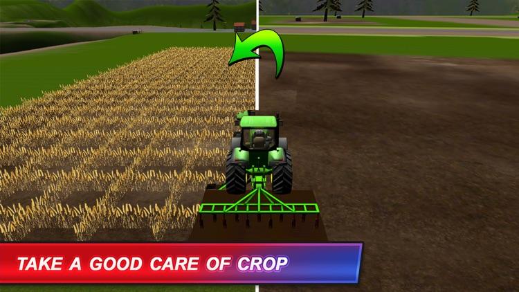 American Farm Simulator:Diesel Truck Harvest Crop screenshot-3