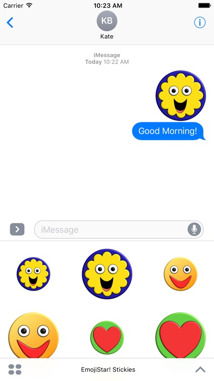 EmojiStar! Stickies