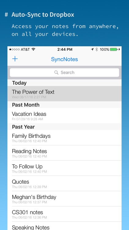 SyncNotes: Modern Text Editor with Cloud Sync