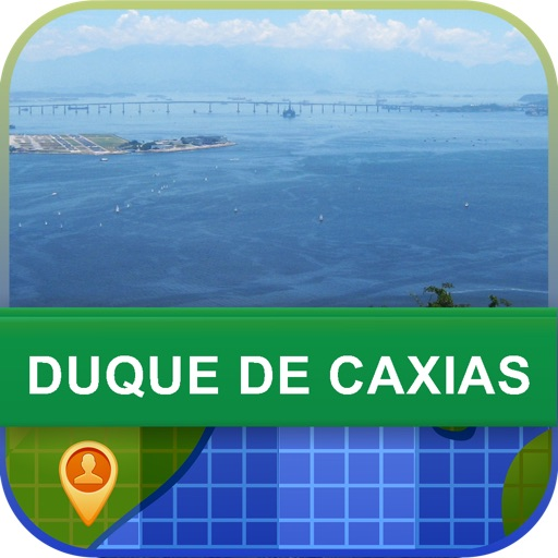 Duque de Caxias, Brazil Map - World Offline Maps