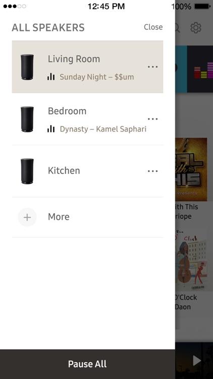 Wireless Audio : Multiroom screenshot-3