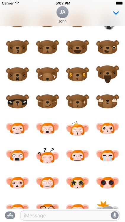 Cute Animal Emojis screenshot-4