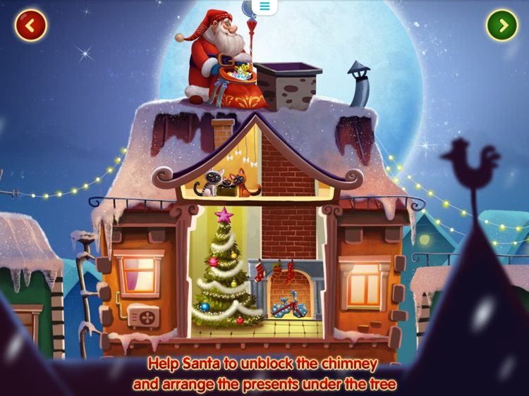 Christmas Magic: Interactive story book for kids screenshot-3