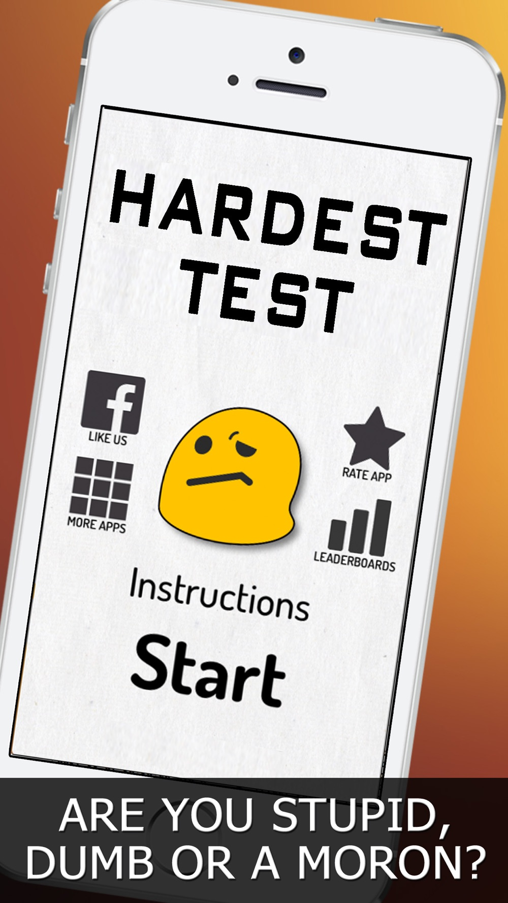 Hardest Test – Impossible Free Fun Game!