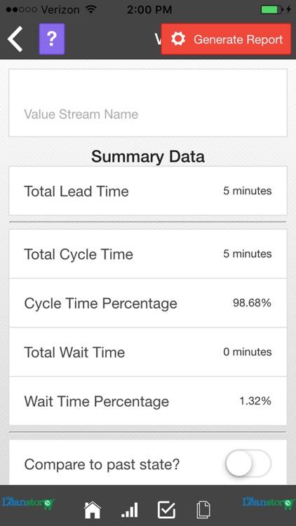 Lean Value Stream Mapping screenshot-4
