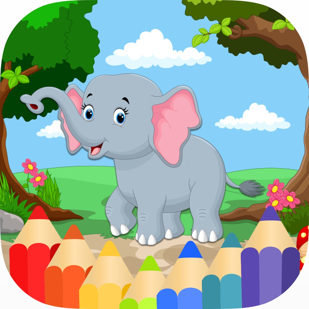 Animals Coloring Pages for Kids Girls & Boys HD hack