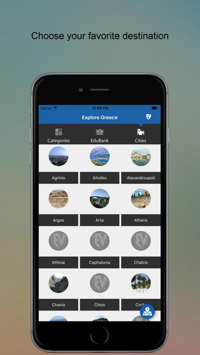 Explore Greece SMART Guide screenshot two