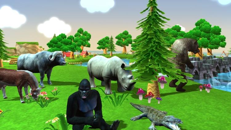 Wild Animal Zoo Simulator Pro screenshot-3