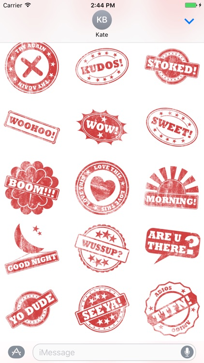 Stamp It Stickers
