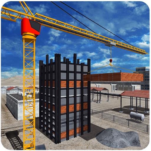 Строительство Строительство симулятор 3D - Builder Кран симулятор