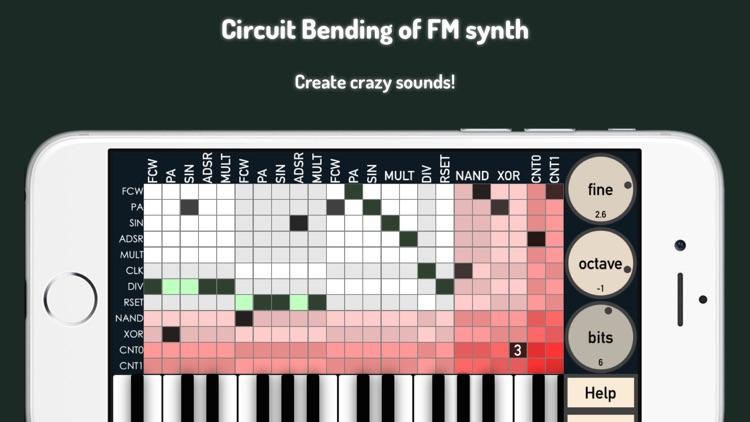 bent.fm - circuit bending