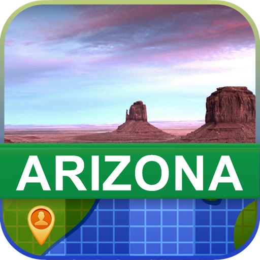 Offline Arizona, USA Map - World Offline Maps icon