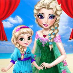 Mommy Makeup Salon - Spa Makeover and Dressup games for girls