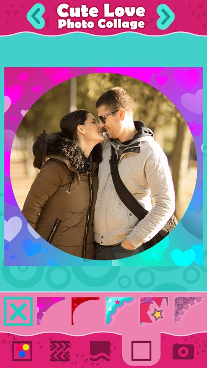 Cute Love Photo Collage: Pic Grid Editor Pro screenshot-3