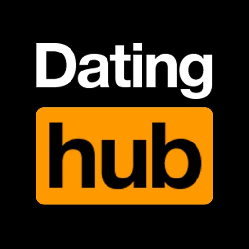 Dating hub -flirt and meet free singles online app icon