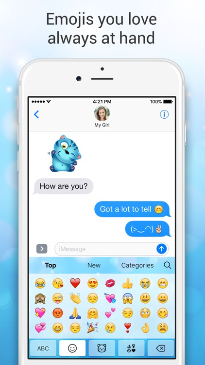 Emoji Keyboard for Me - Keyboard Themes & Emojis screenshot-3
