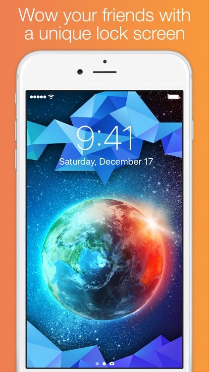 Lock Screens - Free Wallpapers & Background Themes screenshot-3