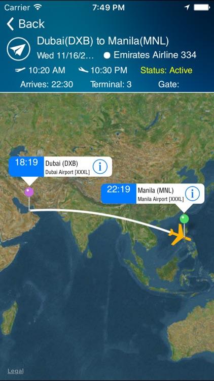 Manila Airport Pro (MNL) + Flight Tracker