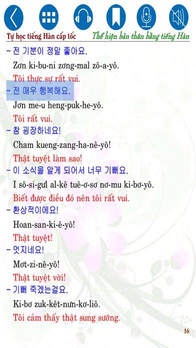 Tự học tiếng Hàn cấp tốc – Thể hiện bản thân screenshot three
