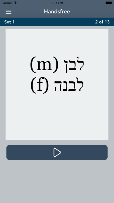 AccelaStudy® Hebrew | English Screenshot 5