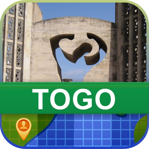 Offline Togo Map - World Offline Maps