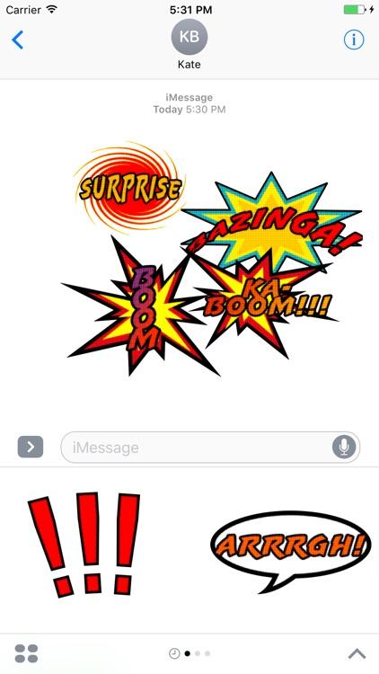 Comic Messages screenshot-3