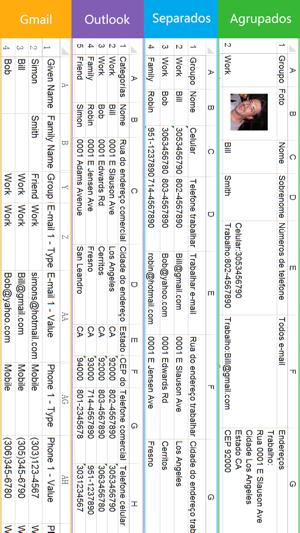 SA Contatos Lite Screenshot
