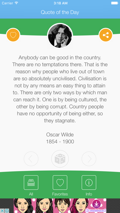 Quote of the Day : Quotes and Sayings screenshot one