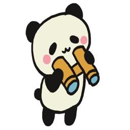 Cute Panda Sticker Pack