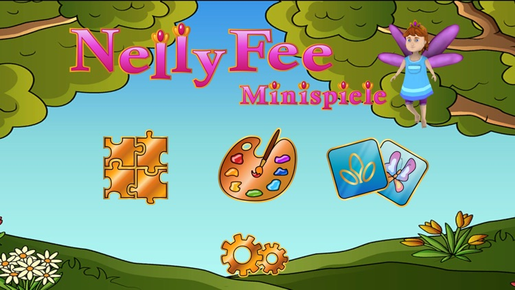 Nelly Fairy: Minigames screenshot-0