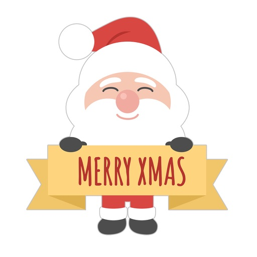 Cute Santa Claus - Adorable Stickers and Emojis by Daniel Martinho