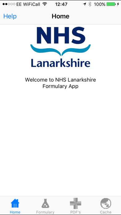 Lanarkshire Formulary screenshot one