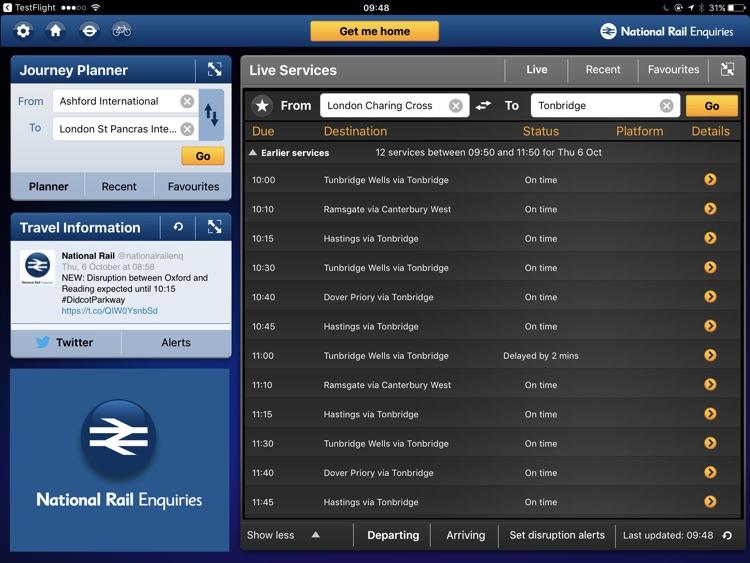 National Rail Enquiries for iPad screenshot-3