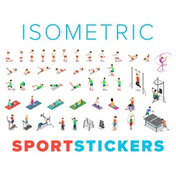 Isometric Sport Stickers