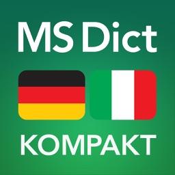 Deutsch <-> Italienisch KOMPAKT Wörterbuch
