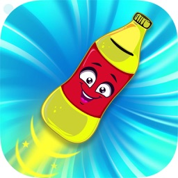 Bottle Flip Stack - Bottle flip diving free games