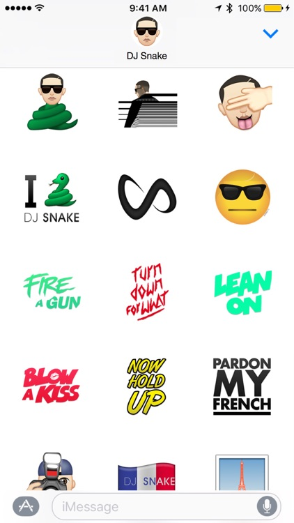 DJ Snake ™ by Moji Stickers