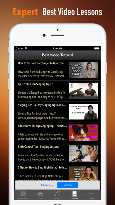 Singing Tips:New Approach and Sight Singing screenshot three